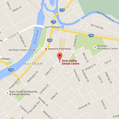 Avon Valley Dental Centre location