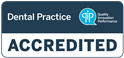 avon valley accredited dental practice QIP logo
